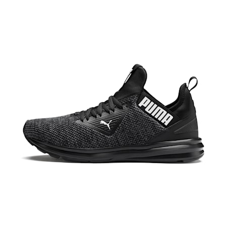 Enzo Beta Woven Herren Sneaker, Puma Black-Asphalt, small