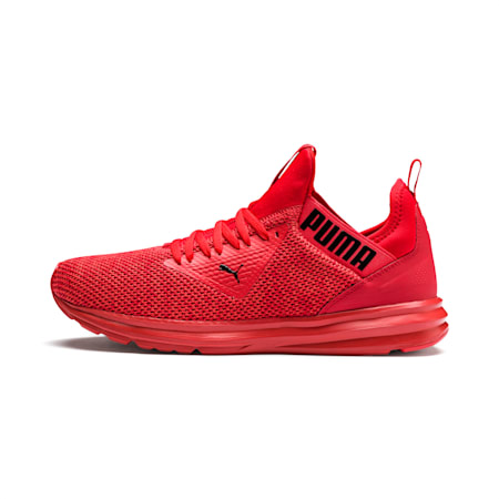 Basket Enzo Beta Woven pour homme, High Risk Red-Puma Black, small