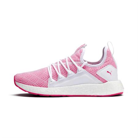 NRGY Neko Stellar Women's Running Shoes, Puma White-Fuchsia Purple, small