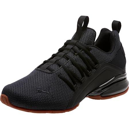 Axelion Mesh Men's Training Shoes, Puma Black, small