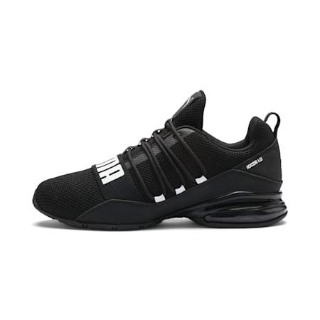 CELL Regulate Woven Men's Running Shoes, Puma Black-Asphalt-White, small