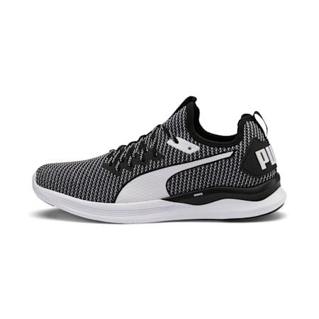 IGNITE Flash FS Men's Running Shoes, Puma Black-Puma White, small-IND