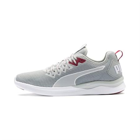Zapatos de entrenamiento IGNITE Flash para hombre, High Rise-Glacier Gray-White, pequeño