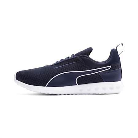 Carson 2 Concave Men's Running Shoes, Peacoat-Puma White, small