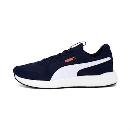 NRGY Neko Retro Men's Running Shoes, Peacoat-Puma White, small-IND