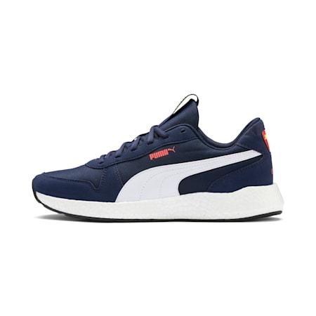 NRGY Neko Retro Men's Running Shoes, Peacoat-Puma White, small-SEA