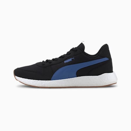 NRGY Neko Retro Men's Running Shoes, Puma Black-Palace Blue, small-IND