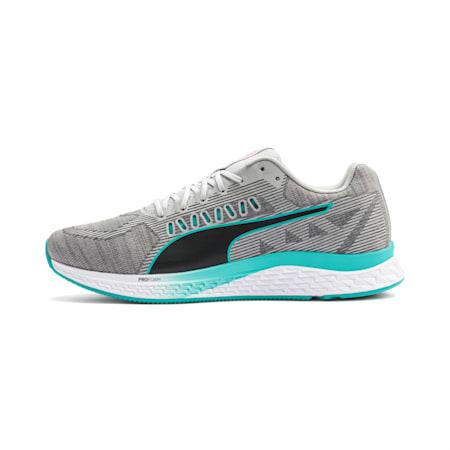 Zapatos para correr SPEED Sutamina para hombre , High Rise-Nrgy Red-Blue Turq, pequeño