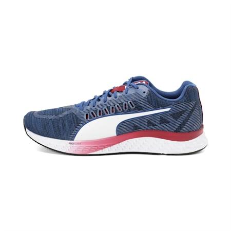 SPEED SUTAMINA ProFoam Running Shoes, Galaxy Blue-Rhubarb-White, small-IND