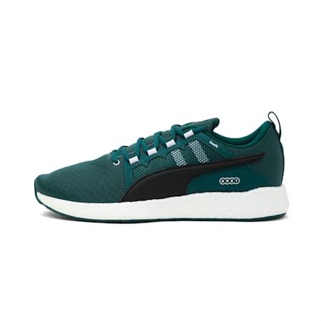 NRGY Neko Turbo Men's Running Shoes, Ponderosa Pine-Puma White, small-IND
