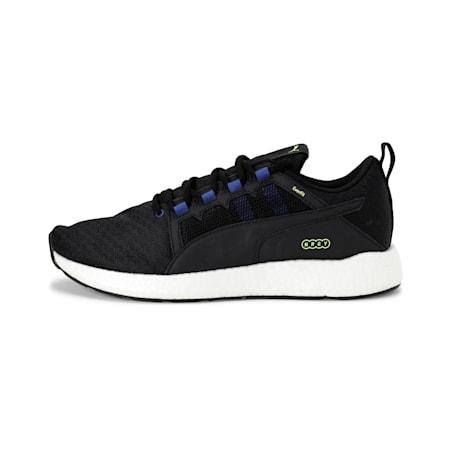 NRGY Neko Turbo Men's Running Shoes, Puma Black-Galaxy Blue, small-IND