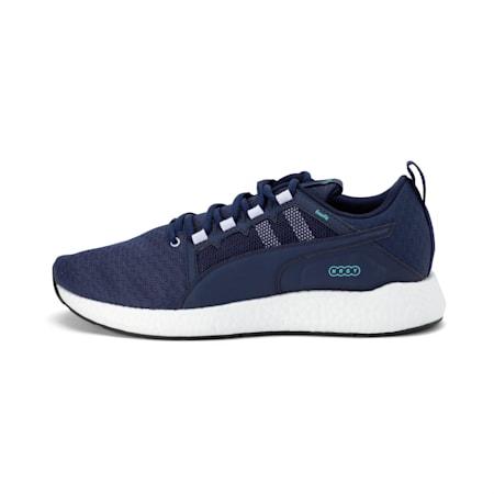 NRGY Neko Turbo Men's Running Shoes, Peacoat-Puma White, small-IND