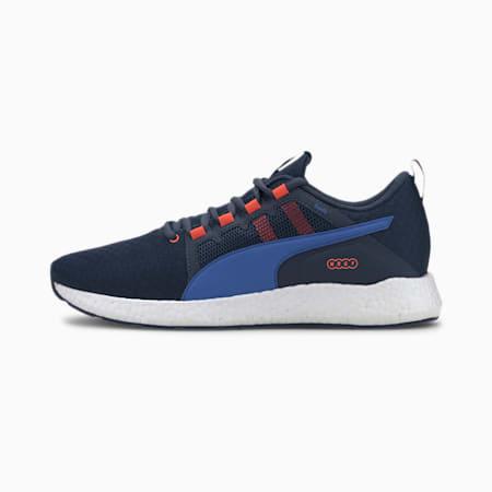 Chaussure de course NRGY Neko Turbo pour homme, Drk Dnm-Plce Blue-Lava Blast, small