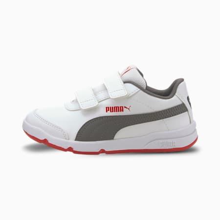 Stepfleex 2 SL VE V Kids' Shoes, White-CASTLEROCK-HighRiskRed, small-IND
