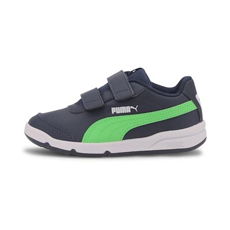 Stepfleex 2 SL VE V Kids' Shoes, Peacoat-Summer Green-White, small-IND
