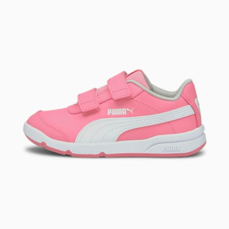 Stepfleex 2 SL VE V Kids' Trainers, Pink-Puma White-Gray Violet, small-SEA