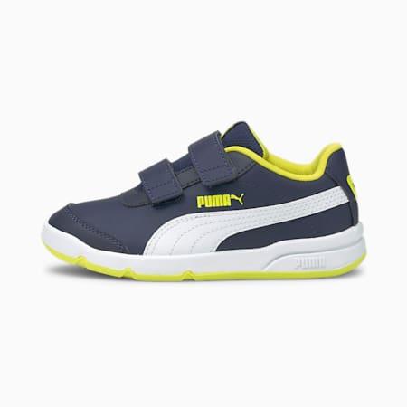 Stepfleex 2 SL VE V sportschoenen voor kinderen, Peacoat-Puma White-Yellow, small