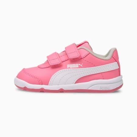 Stepfleex 2 SL VE V Babies' Trainers, Sachet Pink-Puma White-Gray Violet, small-SEA