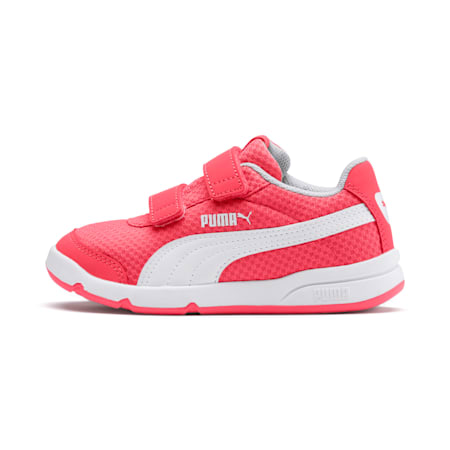 Stepfleex 2 Mesh VE V Kids' Shoes, Calypso Coral-White-G Violet, small-IND