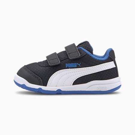 Stepfleex 2 Mesh VE V Babies Sneaker, Puma Black-White-Palace Blue, small
