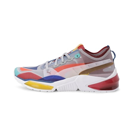 LQDCELL Optic Sheer Men's Training Shoes, High Rise-Rhubarb-Sulphur, small-IND