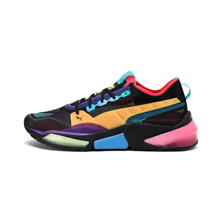 LQDCELL Optic Sheer Men's Training Shoes, Puma Blk-Nrgy Roe-Ble Turqse, small-IND