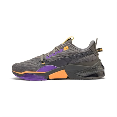 LQDCELL Optic Rave Men's Running Shoes, CASTLEROCK-Purple Glimmer, small-IND