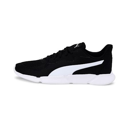 INTERFLEX SoftFoam+ Unisex Running Shoes, Puma Black-Puma White, small-IND