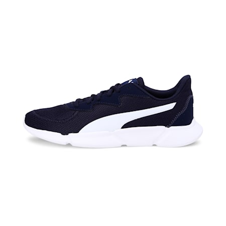 INTERFLEX SoftFoam+ Running Shoes, Peacoat-Puma White, small-IND