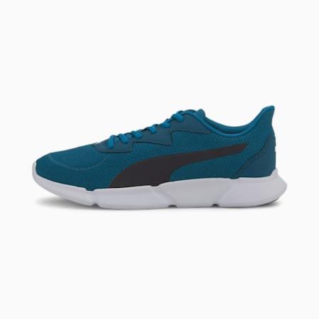INTERFLEX SoftFoam+ Running Shoes, Digi-blue-Puma White-Black, small-IND