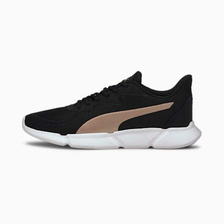 INTERFLEX SoftFoam+ Running Shoes, Puma Black-Rose Gold White, small-IND