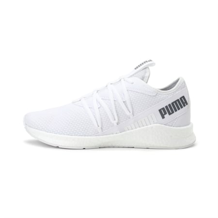 NRGY Star Running Shoes, Puma White-CASTLEROCK, small-IND