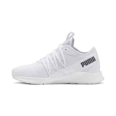 NRGY Star Running Shoes, Puma White-CASTLEROCK, small-SEA