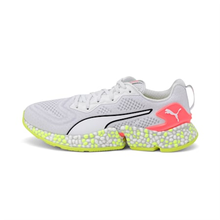 HYBRID SPEED Orbiter Women's Running Shoes, Puma White-Yellow Alert, small-IND