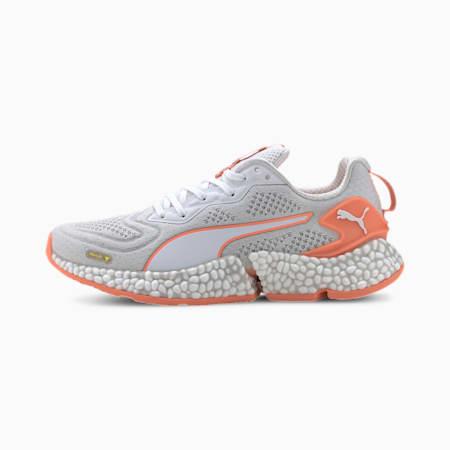 HYBRID SPEED Orbiter Women's Running Shoes, White-YellowAlert-FizzyOrang, small