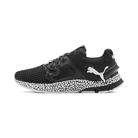HYBRID Sky Men's Running Shoes, Puma Black-Puma White, small