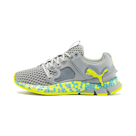 HYBRID Sky Women's Running Shoes, Quarry-Yellow Alert, small
