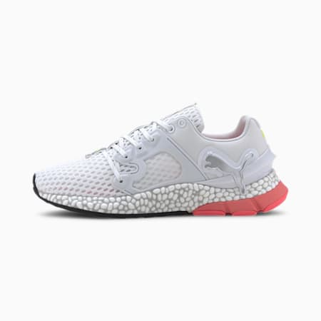 HYBRID Sky Women's Running Shoes, Puma White-IgPink-YellowAl, small