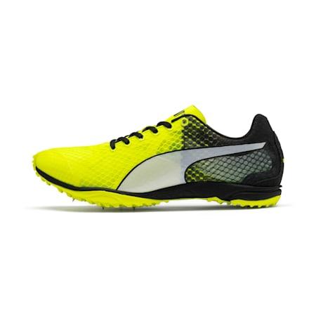 evoSPEED Haraka 6 Distance Track Spikes, Yellow Alert-Black-White, small