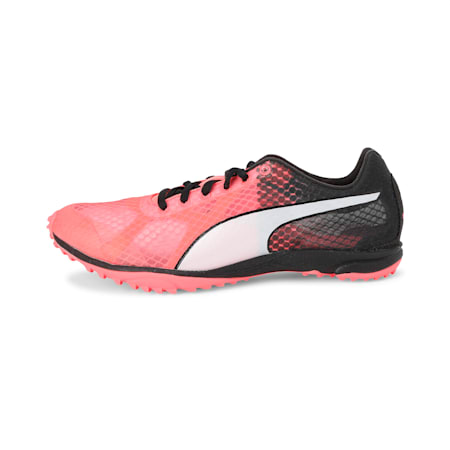 evoSPEED Haraka 6 Track and Field Boots, Pink Alert-Black-White, small-IND