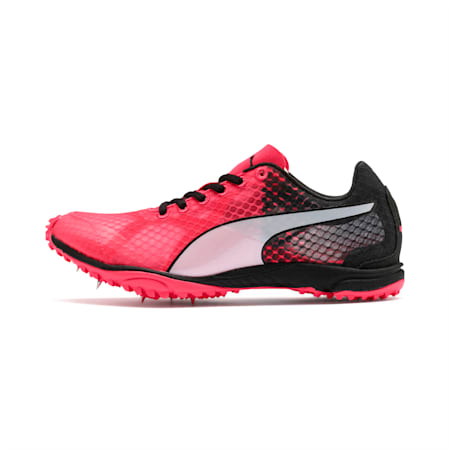 evoSPEED Haraka 6 Distance Track Spikes, Pink Alert-Black-White, small