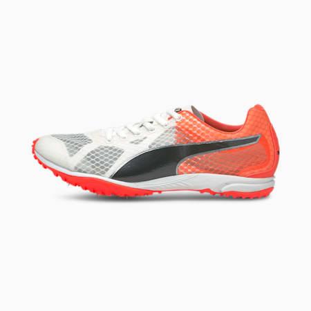 evoSPEED Haraka 6 Unisex Running Shoes, Puma White-Lava Blast-Puma Black, small-IND