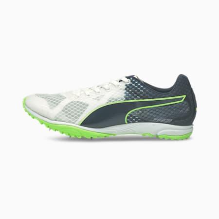evoSPEED Haraka 6 Unisex Running Shoes, Puma White-Spellbound-Green Glare, small-IND