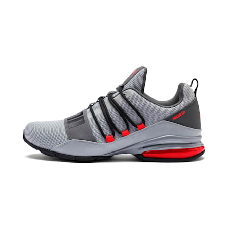 Cell Regulate Camo Men's Running Shoes, High Rise-CASTLEROCK-Red, small-IND