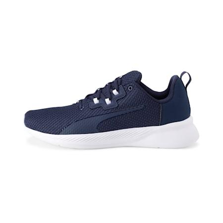 Tishatsu Mesh Running Shoes, Peacoat-Puma White, small-IND