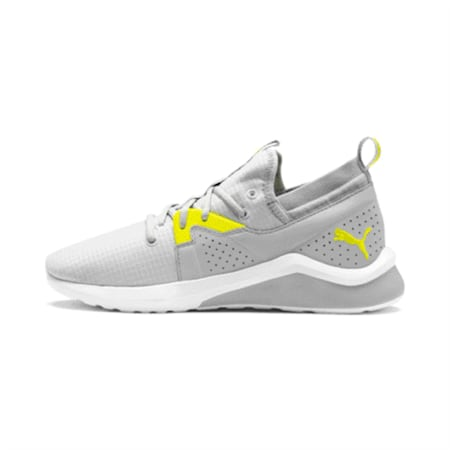 Emergence Lights Men's Running Shoes, High Rise-Yellow Alert, small-IND