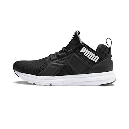 Enzo Sport Men's Running Shoes, Puma Black-Puma White, small-IND