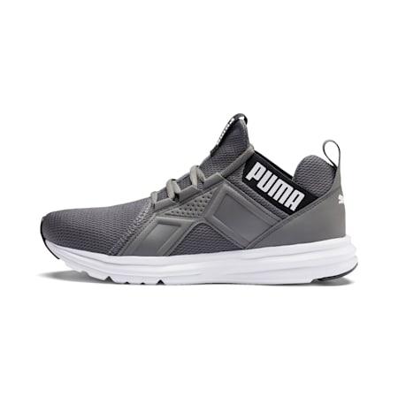 Enzo Sport Men's Running Shoes, CASTLEROCK-Puma Blk-Puma Wht, small-IND