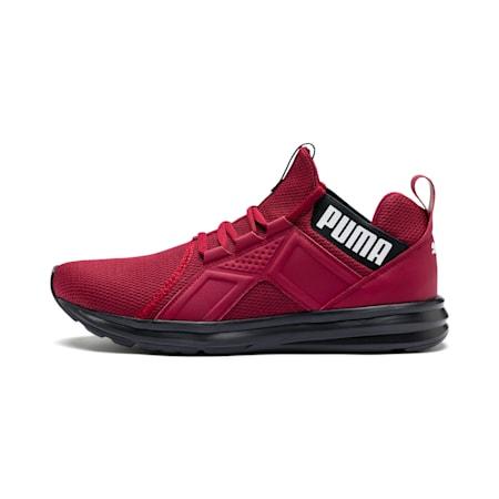 Enzo Sport Men's Training Shoes, Rhubarb-Black-White, small