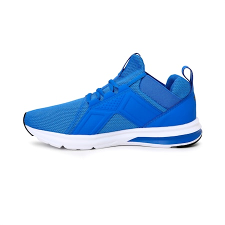Enzo Sport Men's Running Shoes, Palace Blue-Puma Black, small-IND